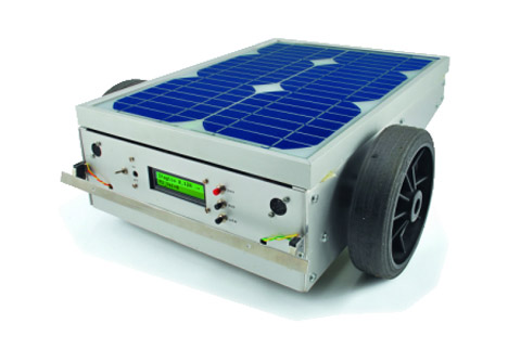 Mobile Solar Mower