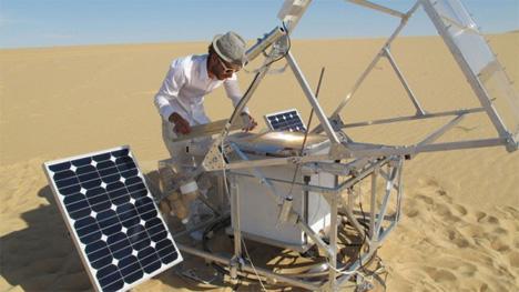 Mobile Solar SunCutter 1