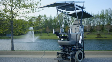 Mobile Solar Wheelchair