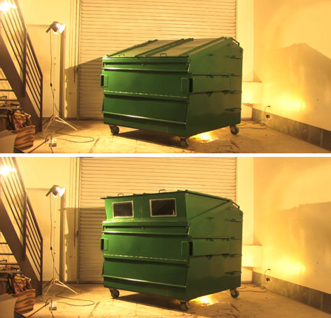 Transforming Houses Dumpster 1