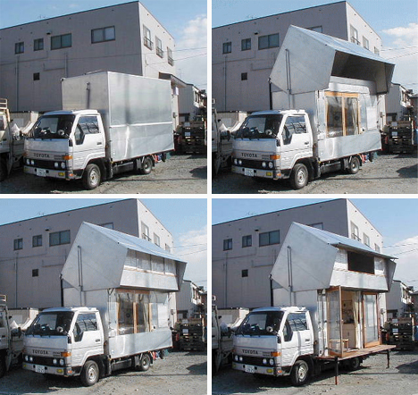 Transforming Houses Japanese Camper