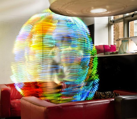 Wi Fi Visualized Signals Translated To Ghostly Light Orbs Urbanist