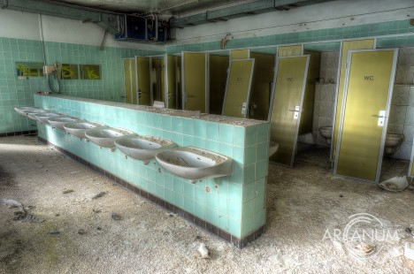 abandoned German chocolate factory 2
