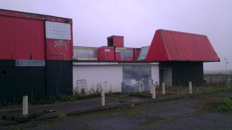 abandoned Little Chef restaurant Rainton Yorkshire 1a