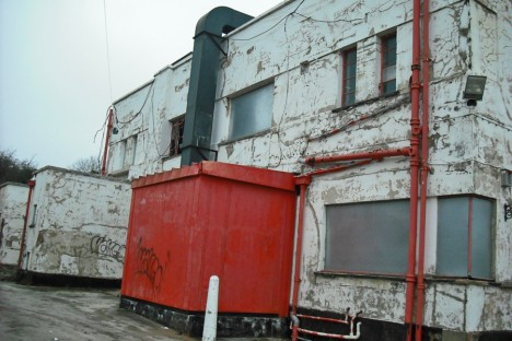 abandoned Little Chef restaurant Wansford 1d