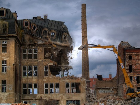 abandoned Most chocolate factory Germany 2