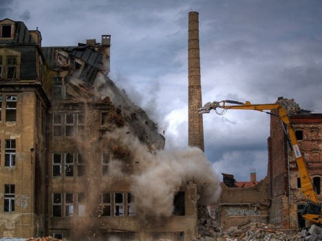 abandoned Most chocolate factory Germany 3
