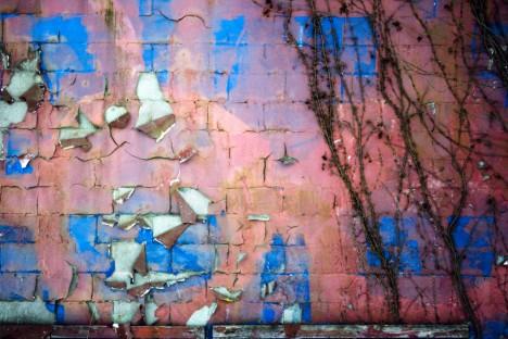 abandoned fireworks store Austintown Ohio peeling paint 2