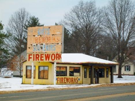 abandoned fireworks store Port Royal VA