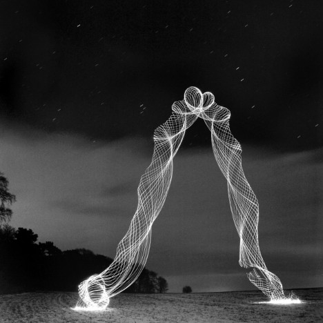 Cyclonic Pictures: Long Exposures Spin Art from Light & Air