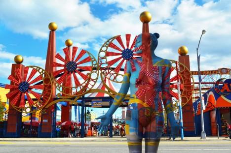 body art coney island