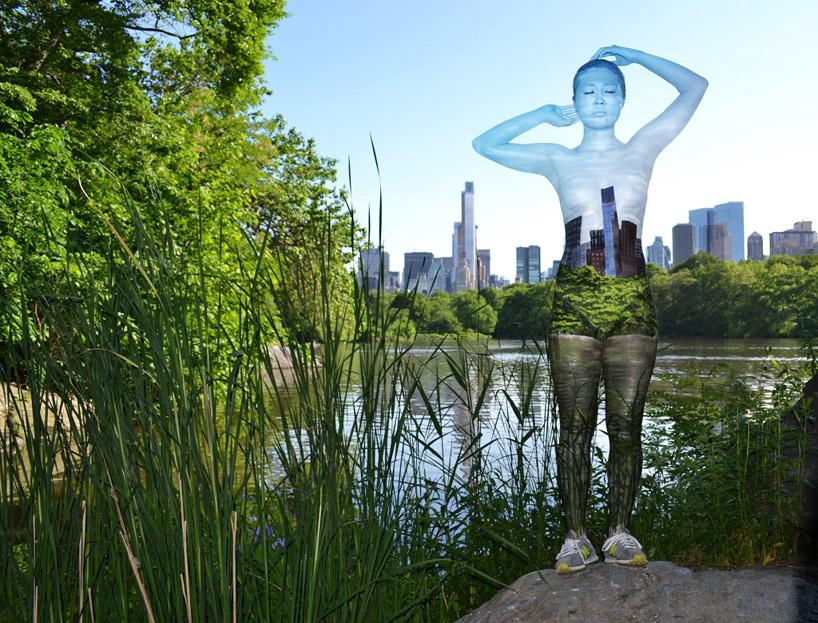 body paint central park