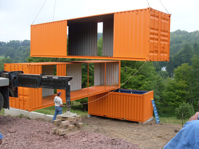 Cargo home videos 10 films on how to build container for Maison container belgique