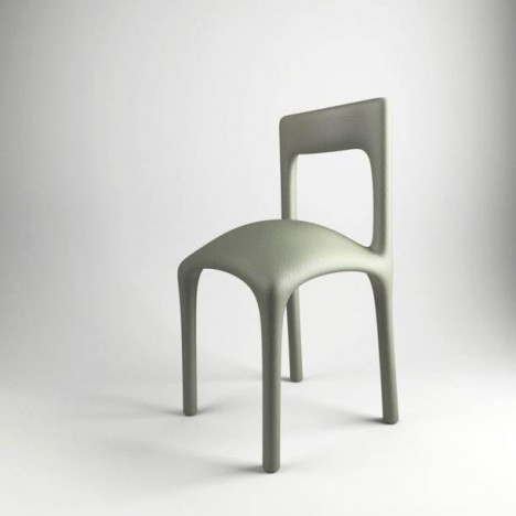 distorted seat