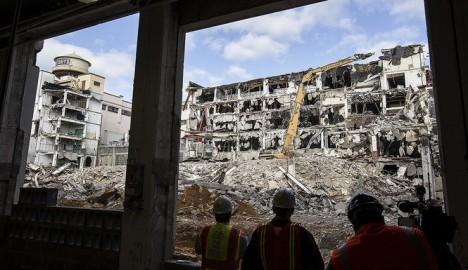 abandoned Hershey chocolate factory Pennsylvania demolition
