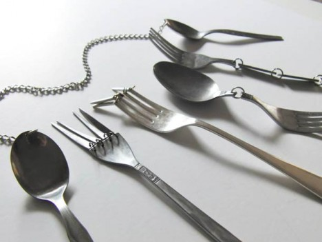 hinged silverware functionless design