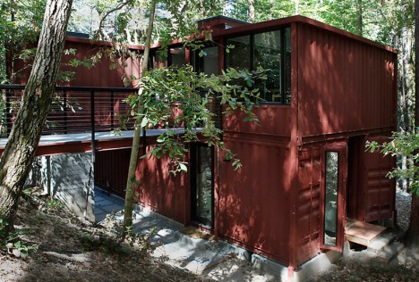 modulus shipping container home