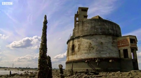 sea fort bbc video