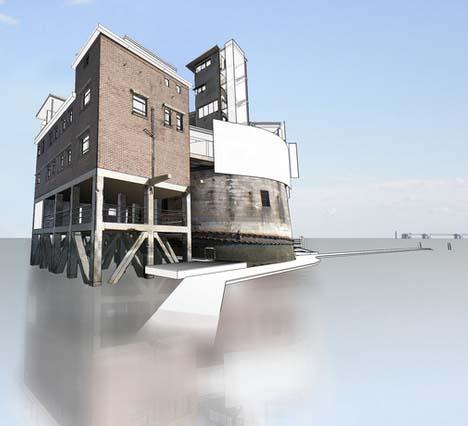 sea fort renovation rendering