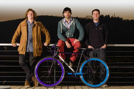 unstealable bike engineering team