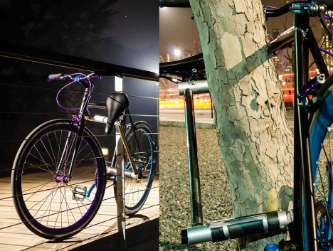 Unstealable Bike: Theft Proof Bicycle Frame Doubles as Lock