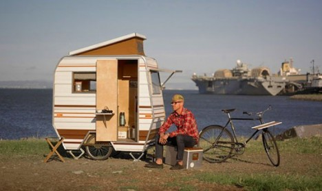 unusual tiny rvs. DIY Mobile Homes Camper Bike 2 Roaming  15 RVs Converted Buses Tiny Houses Urbanist