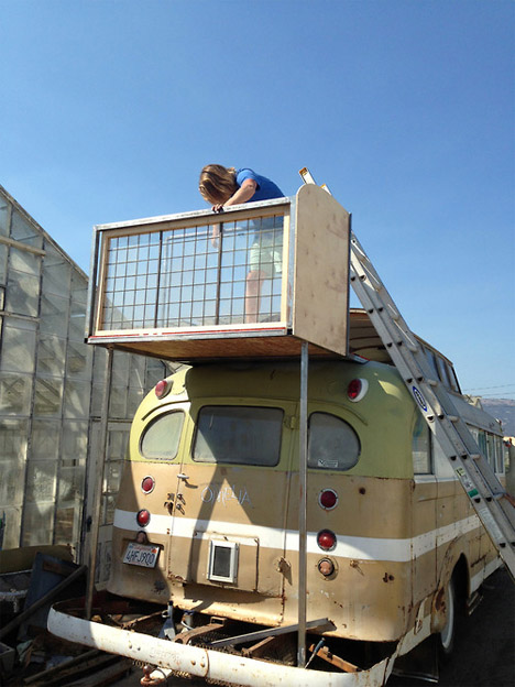 DIY Mobile Homes Handcrafted Bus 3