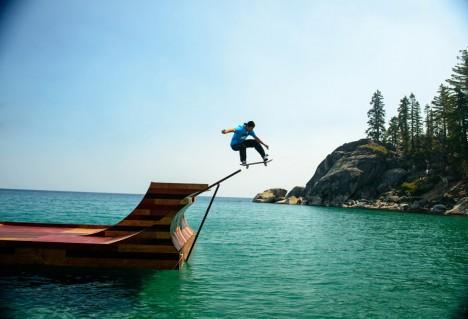 FLoating Skateboard Ramp 5