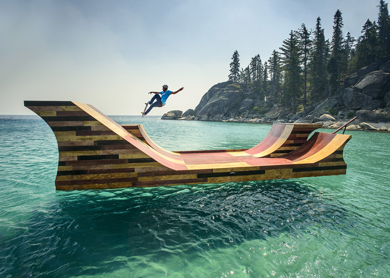 Floating Skate Ramp 1