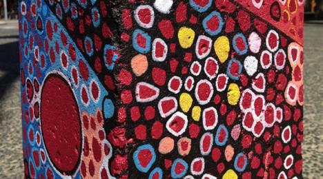 Freemantle Australia artistic bollards 2