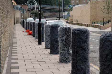 Furry Traffic Bollards London