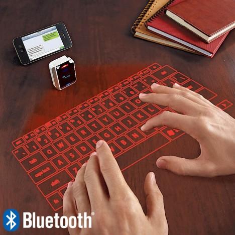 Keyboards virtual laser