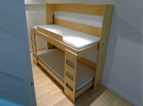 Kids Furniture Dumbo Double Tuck Bed 2