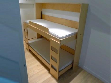 Kids Furniture Dumbo Double Tuck Bed 2