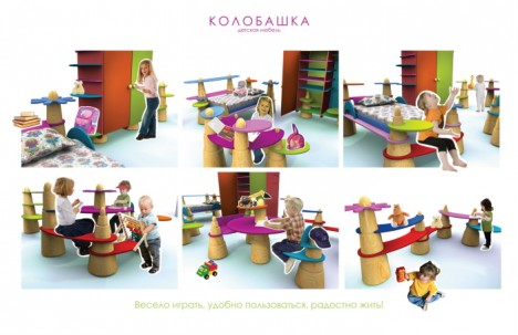 Kids Furniture Kolobashka 2