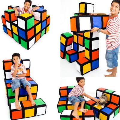 module furniture. kids furniture rubiks cube 1 module