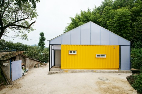 Low Cost Shipping Container House 4