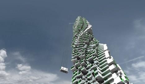 Modular Cities Jenga Tower 1