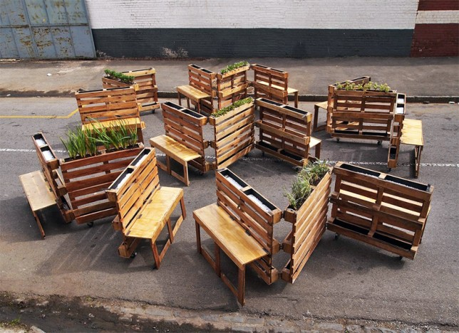 Pallet Benches 1