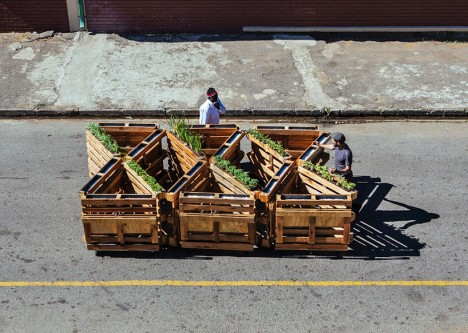 Pallet Benches 2