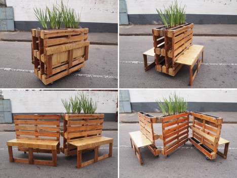Pallet Benches 4