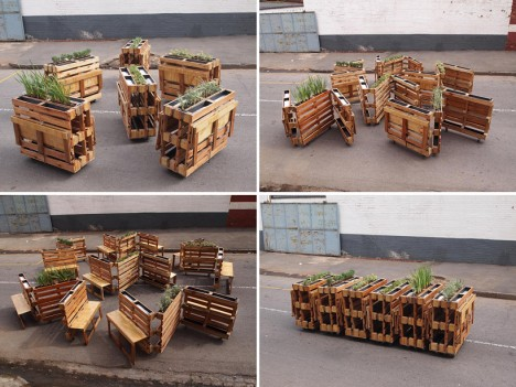 Pallet Benches 5