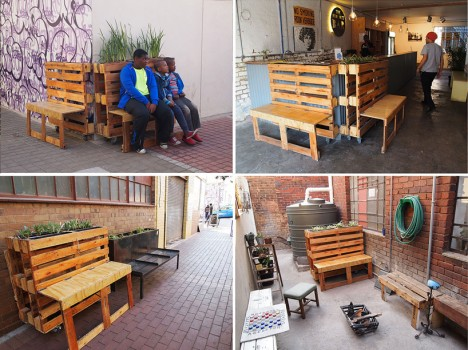 Pallet Benches 7