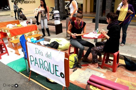 Parking Day Quito