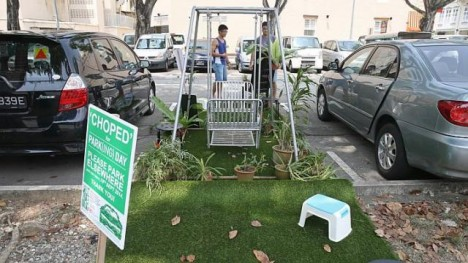 Parking Day Singapore 2