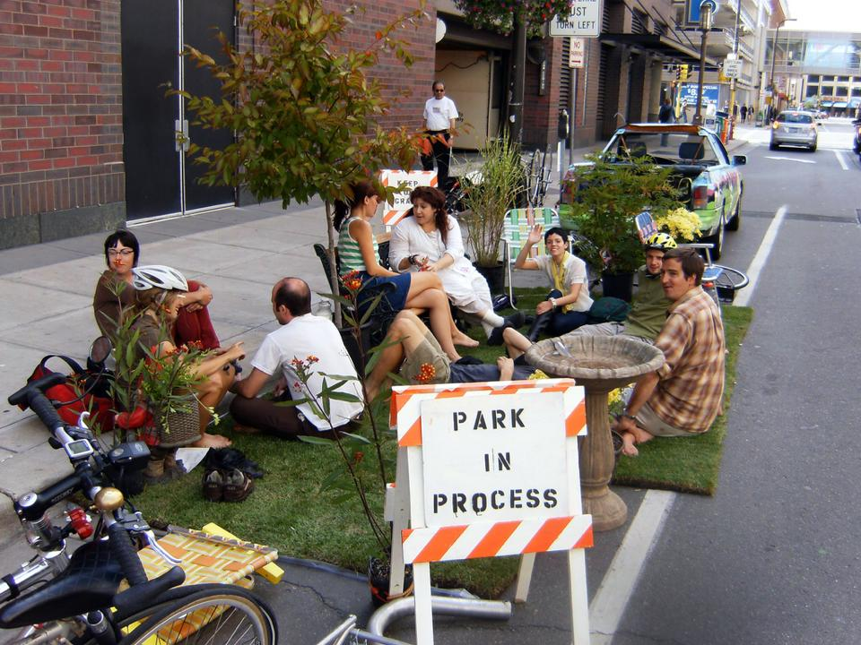 Park Ing Day 2014 Citizens Reclaim The Streets For Fun
