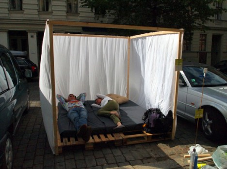 Parking Spot Hacks Nap Platform