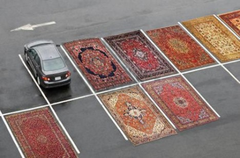 Parking Spot Hacks Persian Rugs