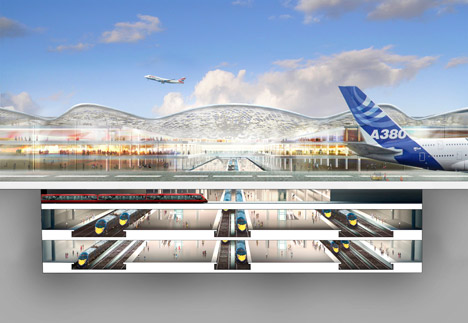 Rejected Starchitects Foster Airport 3