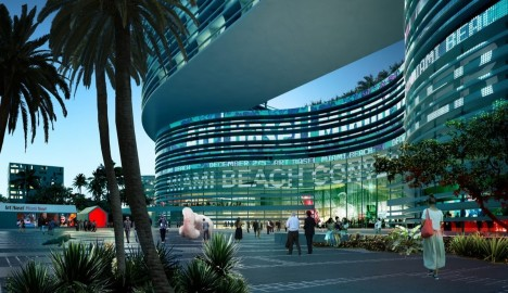 Rejected Starchitects Koolhaas Miami Convention Center 1